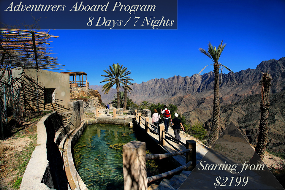 adventurers aboard program image | 8 days 7 nights | starting from $2199
