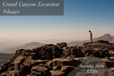 grand canyon excursion | 9 hours | starting from $239